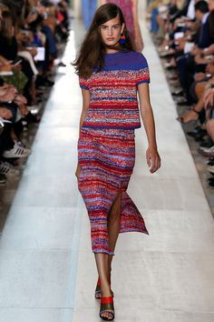 Tory Burch collection printemps-été 2015 #mode #fashion