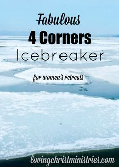 Fabulous 4 Corners Icebreaker - Loving Christ Ministries - Looking for a great way to mix and mingle at your next retreat? This 4 Corners Icebreaker is a great way to get to know others. Icebreaker Activities, Icebreakers, Group Activities, Leadership Activities, Church Activities, Group Games, Teacher Resources, Ice Breakers For Women, Four Corners Game