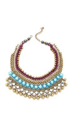 Nocturne Shwedagon Necklace Beaded Necklace, Beaded Bracelets, Necklaces, Nocturne, Eyeglasses, Jewerly, My Style, Summer, Fashion
