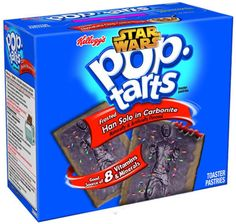 Star Wars Frosted Han Solo in Carbonite Pop Tarts