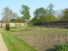 Godinton House walled garden.