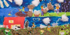 Adital - Crianças latino-americanas ganham concurso de desenho sobre agricultura familiar