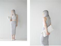 Ivania Carpio from Love Aesthetics in Asos top / Topshop skirt / Tibi heels / Phillip Lim 3.1 bag