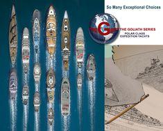 Explorer Yacht, Expedition Yachts, Yacht Design, Catamaran, Futuristic, Surfboard, Boats, Ships, Ocean