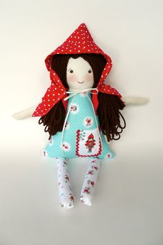 Hey, I found this really awesome Etsy listing at http://www.etsy.com/listing/157779135/ready-to-ship-little-red-riding-hood-rag
