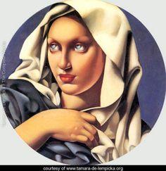 Madonna, c.1937 - Tamara de Lempicka - www.tamara-de-lempicka.org