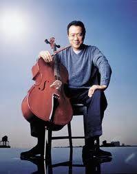 Yo-Yo Ma Bach Cello Suites I actually met Yo-Yo Ma back in 1982 and got his autograph on the recital poster.