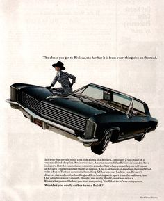 Our neighbor drove a new dark blue1964 Riviera, took us boy scouts to see President Kennedy come through Houston, November 21, 1963!
