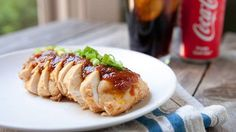 Mix up some chicken, Coca-Cola and spices, then let your slow cooker take over.