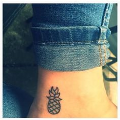 My Pineapple Tattoo Pineapples are the international symbol of Friendship Hospitality!