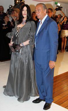 Fawaz Gruosi and Isabelle Adjani - de GRISOGONO party - Cannes 2010
