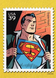 Superman, Curt Swan and Sheldon Moldoff, artists.  Superman debuted in Action Comics #1 in June 1938.