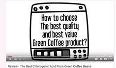 This video is about how to choose the best quality and best value green coffee product. Raw green coffee beans are the most potent natural plant source of chlorogenic acid. Perfect Green Coffee is a pure product made in the USA with no fillers or additives and a lab-verified chlorogenic acid level guaranteed to be at least 50%, making it among the most potent green coffee products available. https://www.youtube.com/watch?v=4C63Dj9zt_Y