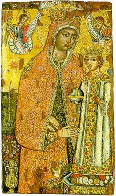 НЕУВЯДАЕМАЯ РОЗА Unwithering Rose Circa 1400. Veroia, Archaeological Museum.