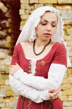 XVe siècle lin médiéval rapporté paysan ou par FiorentinaCostuming