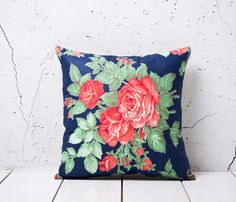 Red & Green Russian Pillow  by YASTK $35.10