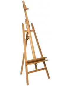 The Mont Marte Beech Wood Floor Easel is a classic A-frame easel suitable for all levels of artists and is very popular among Artists. Perfect for home or studio use, this easel folds flat for easy storage when not in use. Floor Easel, Easels For Sale, Table Easel, Art Shed, Art Easel, Wooden Easel, Book Stands, Projects For Kids, Tilt