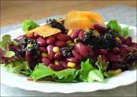 Ensalada de Frijoles - Mexican Typical Food
