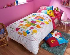 """Bed Linen """"Marelle"""" cotton, from 12, 90 euros, Spoiler."""