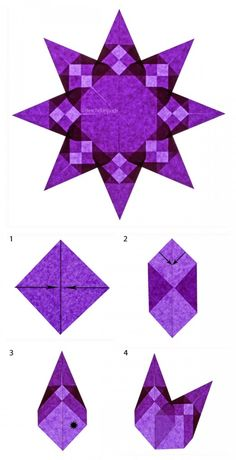 Folding DIY paper stars: Instructions for origami stars - Nicest ThingsPaper Stars Fold Mini Easy GuideAdvent crafting made easyAdvent crafting made easy Origami Stars, Origami Easy, Origami Paper, Diy Paper, Paper Crafting, Dollar Origami, Origami Bird, Origami Tutorial, Origami Instructions