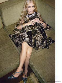Franca Sozzani, editor-in-chief of Vogue Italia since 1988