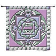 Quilted Mandala Curtains by Izmet - CafePress Quilted Curtains, Mandala Curtains, Curtain Designs, Symbols, Prints, Color, Art, Art Background, Icons