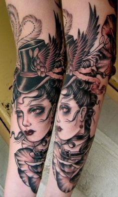 Rose Hardy tattoo.