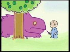 Little David and the Purple Crayon - Watch this video for the delightful story.