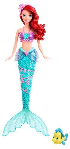 Disney Princess Water Show Ariel Fashion Doll Mattel, IMAGINATIVE TOYS if you wish to buy just CLICK on AMAZON right HERE http://www.amazon.com/dp/B00C6PX2B6/ref=cm_sw_r_pi_dp_Kz.Osb12FXS1WYDR