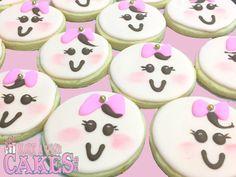 🎀Perfectly sweet! Lemon Sugar Cookie Babies! 👶🏼 #lemoncookies #babygirl #congratulations Baby Girl Cookies, Lemon Sugar Cookies, Cake & Co, Cake Cookies, Cake Pops, Congratulations, Birthday Cake, Babies, Sweet
