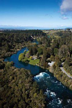 Huka Lodge, Taupo, The North Island, New Zealand