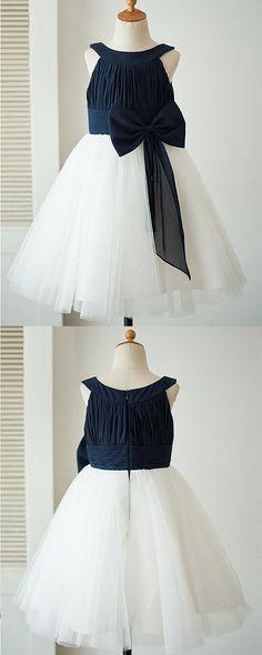 blue & white flower girl dresses, blue flower girl dresses,little girl dress for wedding