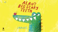 """This is my first book for Walker books. Alan is an alligator with a secret.  Famed for his big, scary teeth, he sneaks into the jungle every day to  scare the jungle animals. But after a long day of scaring, Alan likes  nothing better than to run a warm mud bath and .....take out his false  teeth, which nobody knows about!  """"A riotous jungle romp about an alligator with an embarrassing secret. It's  great fun."""" - The Bookseller  Buy the book"""