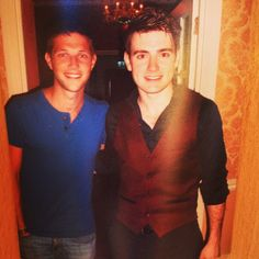 Colm stopped by to see Emmet after his hometown show - 2013
