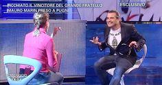 """Mauro Marin a Pomeriggio 5 con il nuovissimo modello #BeIrreverent Pakkiano """" I LOVE MARIA """" DISPONIBILE SU : www.pakkiano.com"""