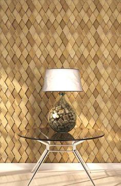 Blog da Revestir.com: Sustentavelmente lindo! Linha Mosaicci Sustentável , mosaico feito de sobras de madeira, Nina Martinelli, Brasil
