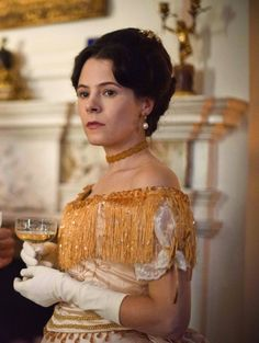 the-garden-of-delights:  Elaine Cassidy as Katherine Glendenning inThe Paradise (TV Series, 2012).