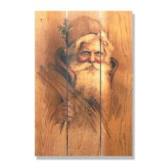 Father Christmas 16x24-inch Indoor/ Outdoor Full Color Wall Art