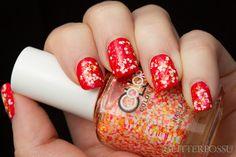 Glitterpossu: Essie Hip-Anema & Color Club Do the Twist