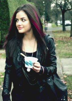 Aria. I loved her pink hair!