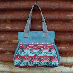 4 Freizeiten: Nähen: Taschenspieler-3-Sew-Along, Nr. 6 - die Kurventasche, Farbenmix, Handtasche