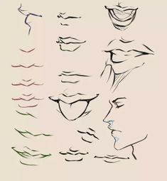 there you are a mouth tutorial by moni , she has a bunch of really good tutorials and references. Smile Drawing, Mouth Drawing, Guy Drawing, Drawing Skills, Drawing Techniques, Art Reference Poses, Drawing Reference, Boca Anime, Drawing Expressions