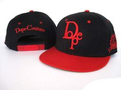 Dope Couture Snapback Gorras M0001