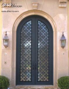 Iron Doors   Exterior Mediterranean Front Doors