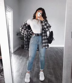 Trendy Fall Outfits, Cute Comfy Outfits, Casual Winter Outfits, Winter Fashion Outfits, Retro Outfits, Look Fashion, Stylish Outfits, Winter Dresses, Casual Summer