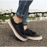 Women Slip On Hollow Out Flats Ladies Breathable Loafers Casual Platform Vulcanized Sewing Sneakers Shoes Clothing Sites, Ladies Slips, Cole Haan, Espadrilles, Oxford Shoes, Shoes Sneakers, Dress Shoes, Loafers, Platform