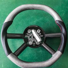 2007 2010 Jeep Wrangler Jk Jku Black Carbon Fiber Steering Wheel