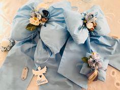 Fiocchi nascita azzurro