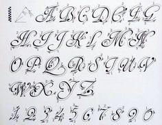 Resultado de imagen de caligrafia artistica