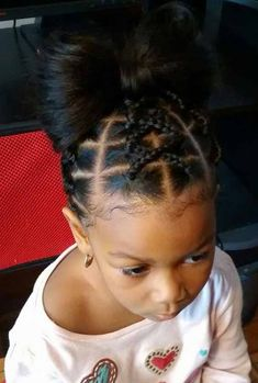 Searching for braids hairstyles for little girls? You have come to the right place. We have compiled 20 fabulous braids hairstyles for little girls. Braided hairstyles for little girls require only one thing that is: pull hair back Lil Girl Hairstyles, Plaits Hairstyles, Natural Hairstyles For Kids, Kids Braided Hairstyles, Creative Hairstyles, Braided Ponytail, Toddler Hairstyles, Hairstyles Pictures, Short Hairstyles